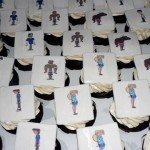 00 - 1 Teletoon edible image cupcakes