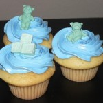 00 - a Baby shower cupcakes