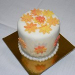 02c - Fall colours mini cake