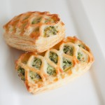 Spinach croissant