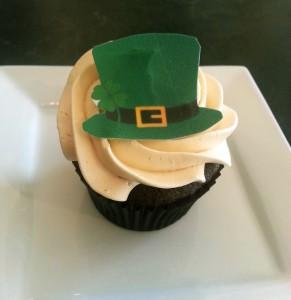 guinness irish cream cupcake