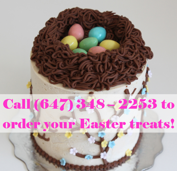 Call to order Easter Treats